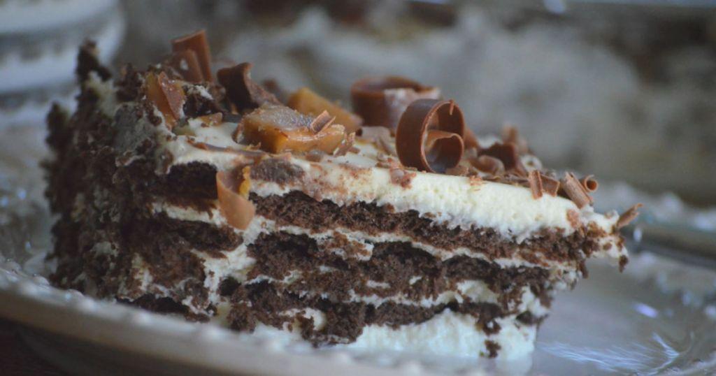 Easy Chocolate Cream Cake
