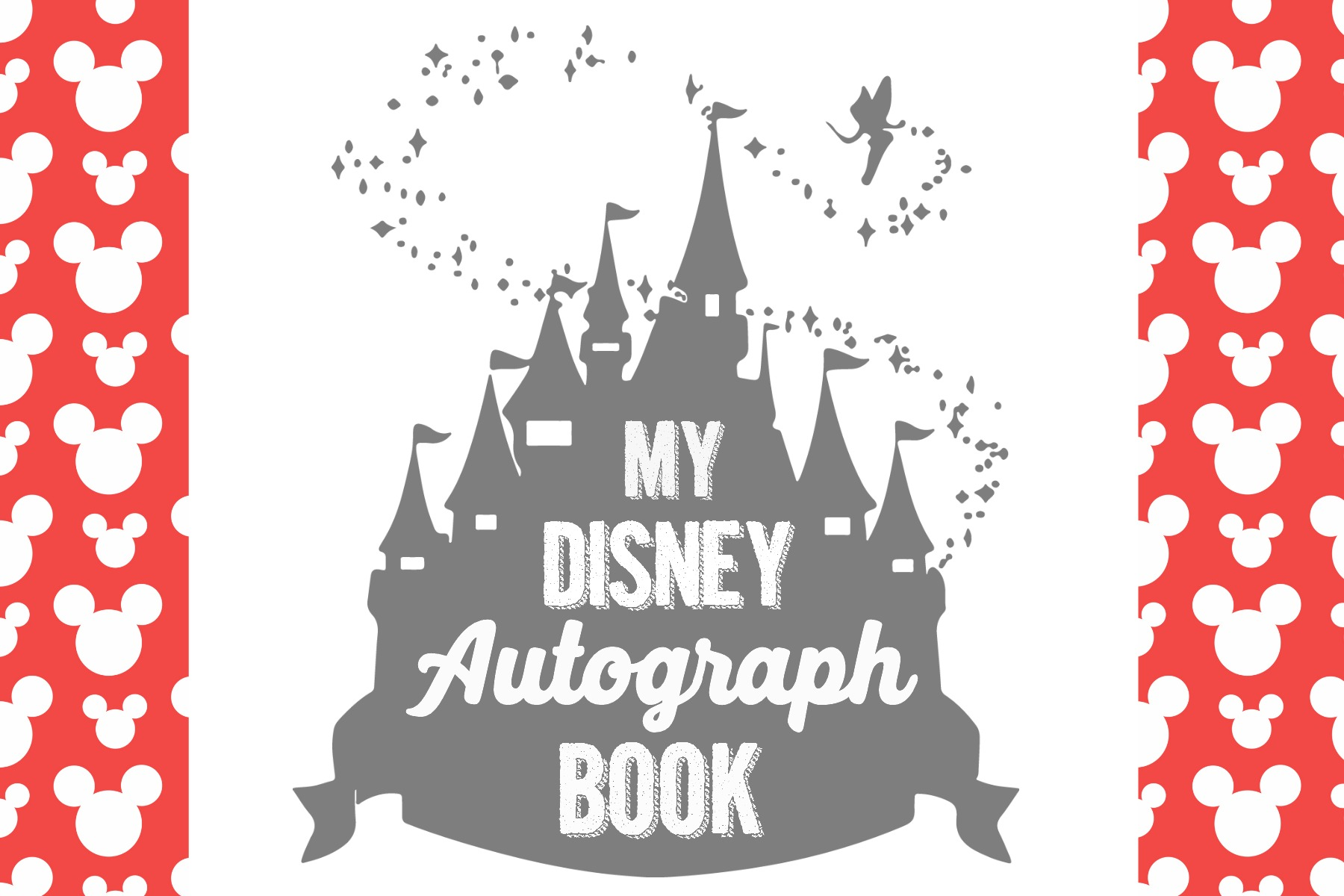 It's just a photo of Impeccable Free Printable Autograph Pages