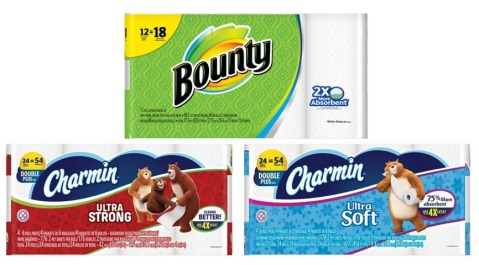 Bounty and Charmin Target Deal