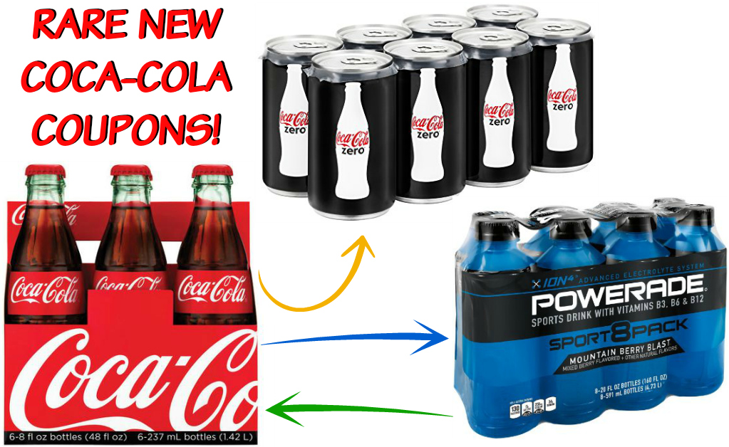 image about Printable Powerade Coupons named Scarce $5 in just Coca-Cola and Powerade Discount coupons - Hip2Help save