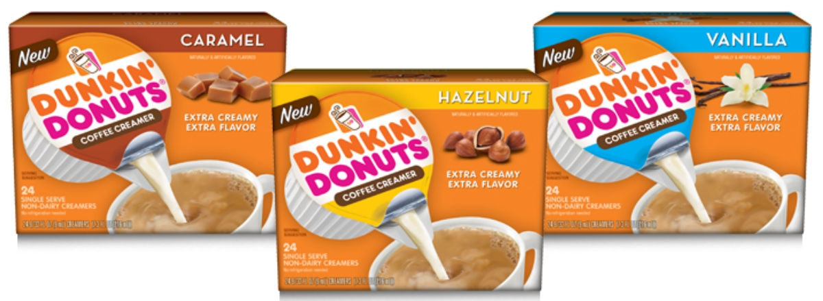 New $1/1 Dunkin' Donuts Coffee Creamer Singles Coupon = 24-Count Box Only $1.78 at Walmart ...