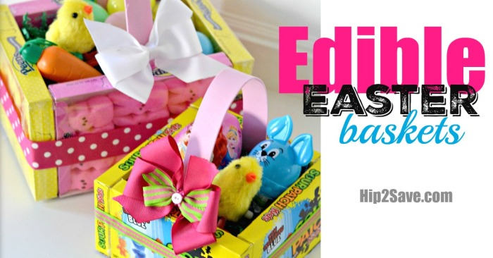 Edible Easter Baskets (Easy Easter Craft)