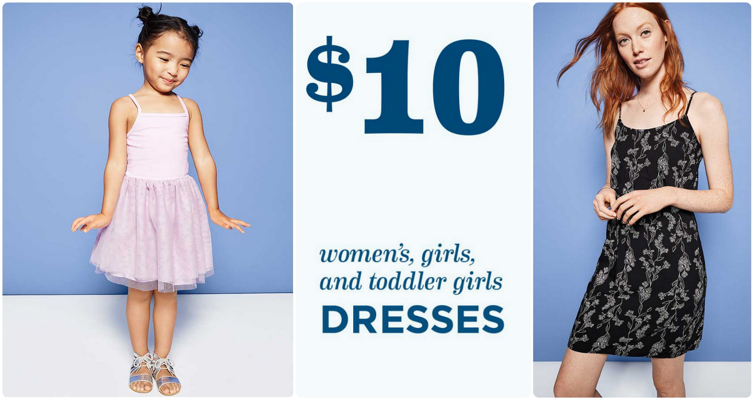 417a3276860e Old Navy: FIVE Women's & Girl's Dresses Only $35 + Earn $40 in Super Cash  (In-Store Only)