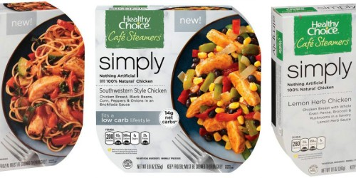 Target Cartwheel Offers: 50% Off Select Healthy Choice Café Steamers Simply Entrees