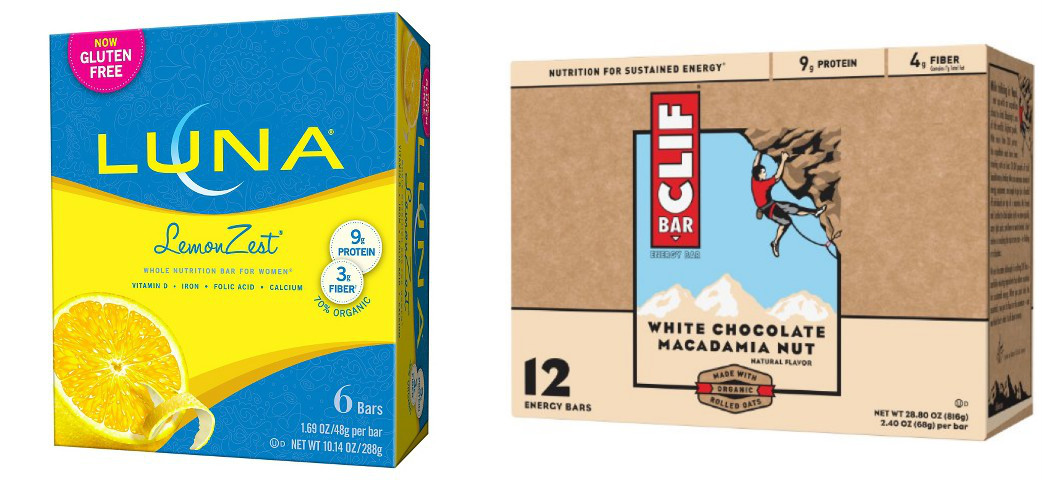 graphic about Cliff Bar Printable Coupons called Uncommon $3 in just *Fresh* Clif Luna Bar Discount coupons - Hip2Help you save