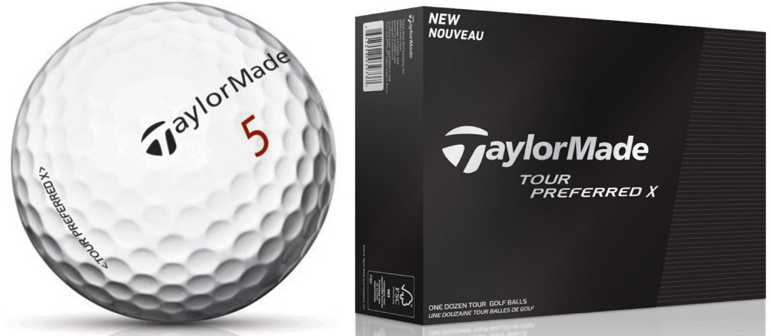 Amazon 2015 Taylormade Tour Preferred X 12 Count Golf