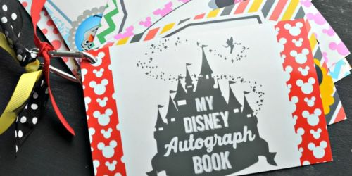 Free Printable Disney Character Autograph Pages (Perfect for Upcoming Disney Trip)