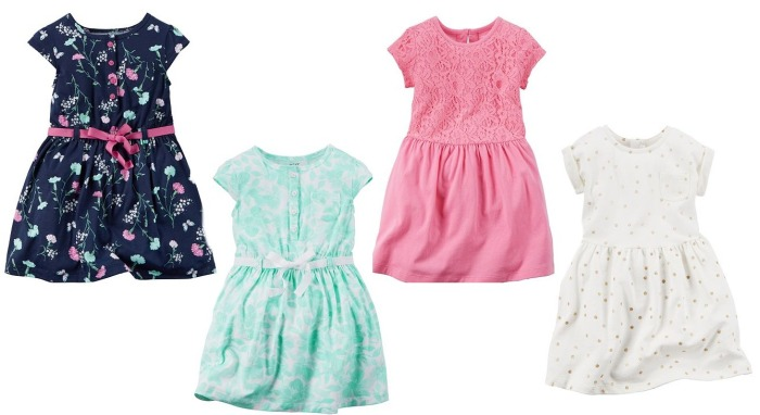 4075a493bb810 Kohl's: Girl's Spring Dresses Only $5.95 And Carter's Boys' Short ...