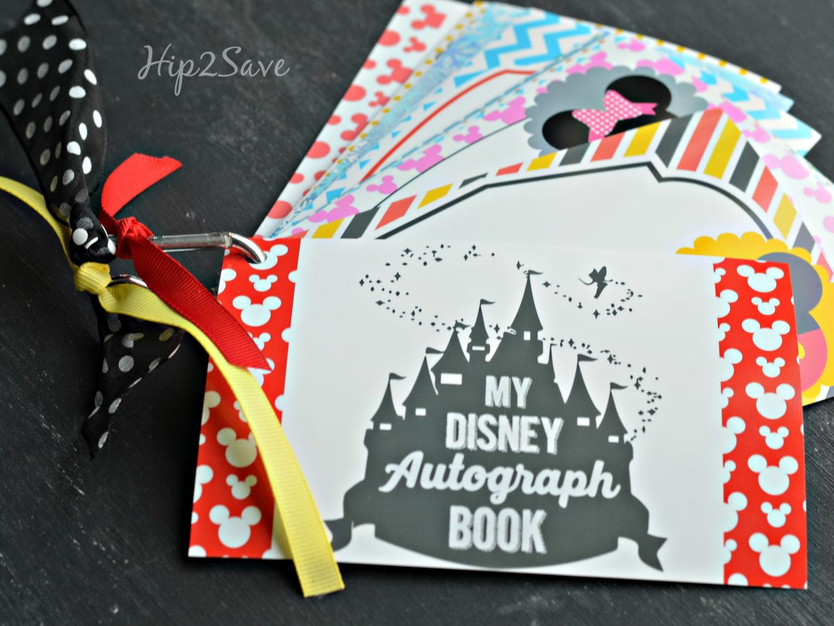 It is a picture of Printable Disney Autograph Book in trendy