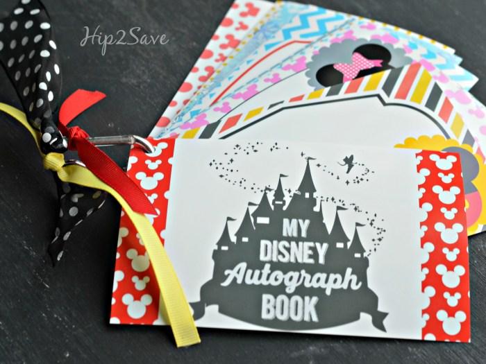 How to make a Disney Autograph book Hip2Save