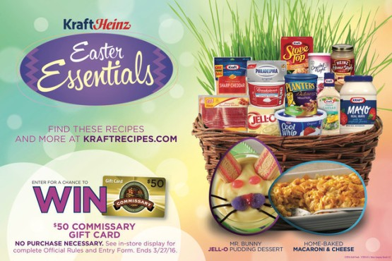 KRAFT Easter Essentials Gift Card Giveaway