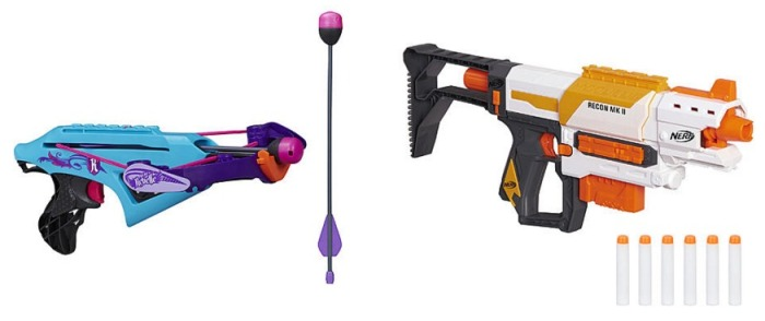 Nerf Rebelle Crossbow and Modulus Recon