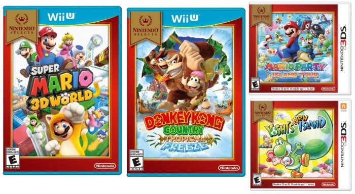 Nintendo Select games
