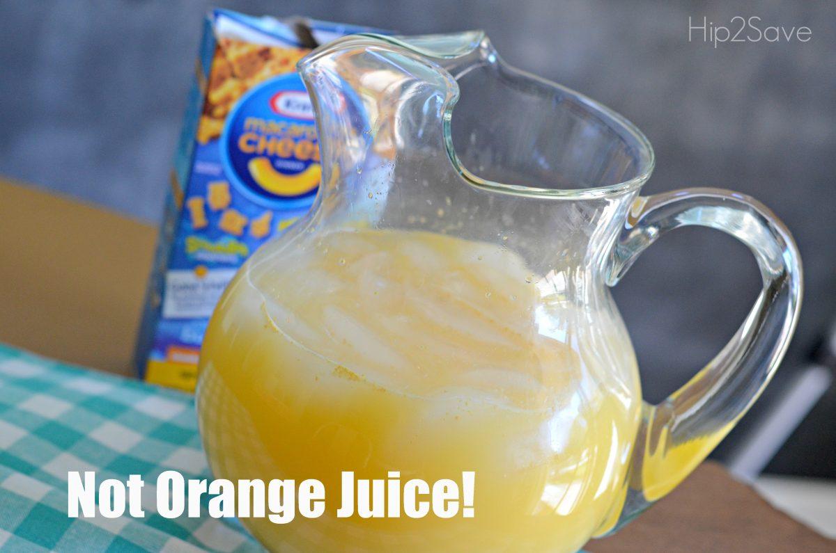 Not Orange Juice April Fools Prank Hip2Save.com