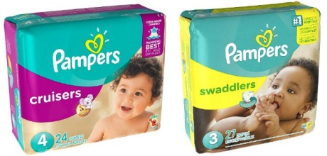 Pampers Cruisers and Swaddlers