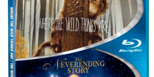 Where the Wild Things Are AND The Neverending Story Blu-ray ONLY $7.99 + More