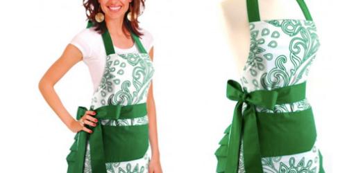Flirty Aprons: Women's Green Goddess Apron Only $11.99 Shipped (Regularly $34.95)