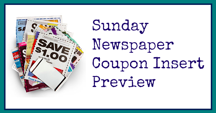 4 10 Sunday Newspaper Coupon Insert Preview Hip2save