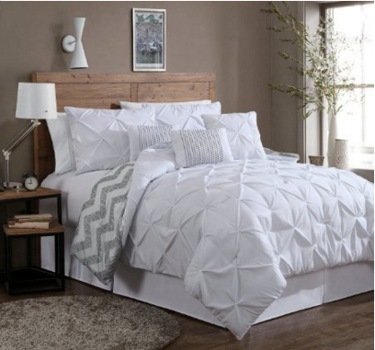 Amazon 20 Off Geneva 7 Piece Comforter Sets Queen Comforter Set