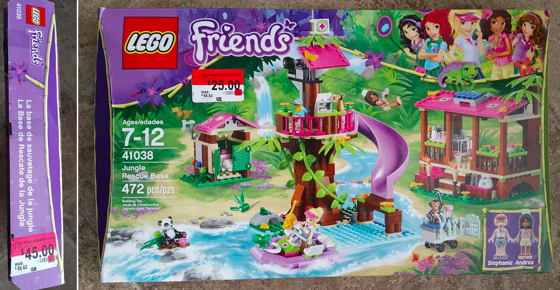 Walmart Reader Find: LEGO Friends-Jungle Rescue Base Set ...