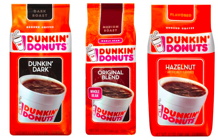 target  dunkin donuts 12oz coffee bags only  3 21 per bag