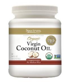 Spectrum Organic Virgin Coconut Oil Unrefined 54 Ounce Jar