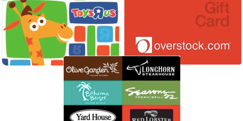 $100 ToysRUs Gift Card Only $85 Shipped + More
