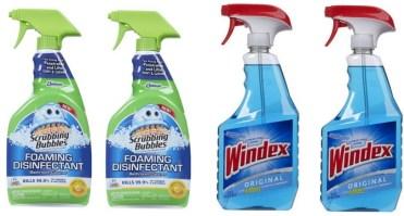 Scrubbing Bubbles and Windex