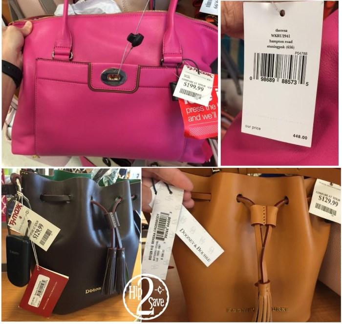 TJMaxx Kate Spade and Dooney & Bourke Handbags at TJMaxx - Hip2Save