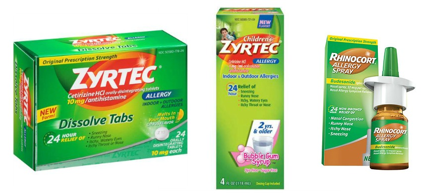image regarding Zyrtec Printable Coupon $10 identify $10 Well worth Of Allergy Discount coupons + Awesome Bargains Upon Zyrtec at
