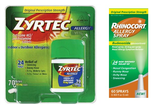 graphic relating to Zyrtec Printable Coupon $10 named $10 Really worth Of Allergy Coupon codes + Good Promotions Upon Zyrtec at