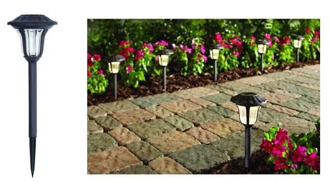 Home Depot Hampton Bay Solar Led Pathway Outdoor Lights 6 Pack Only