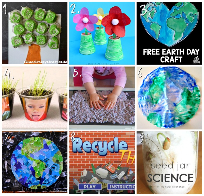 Earth Day Crafts For Kids Recycling Egg Cartons