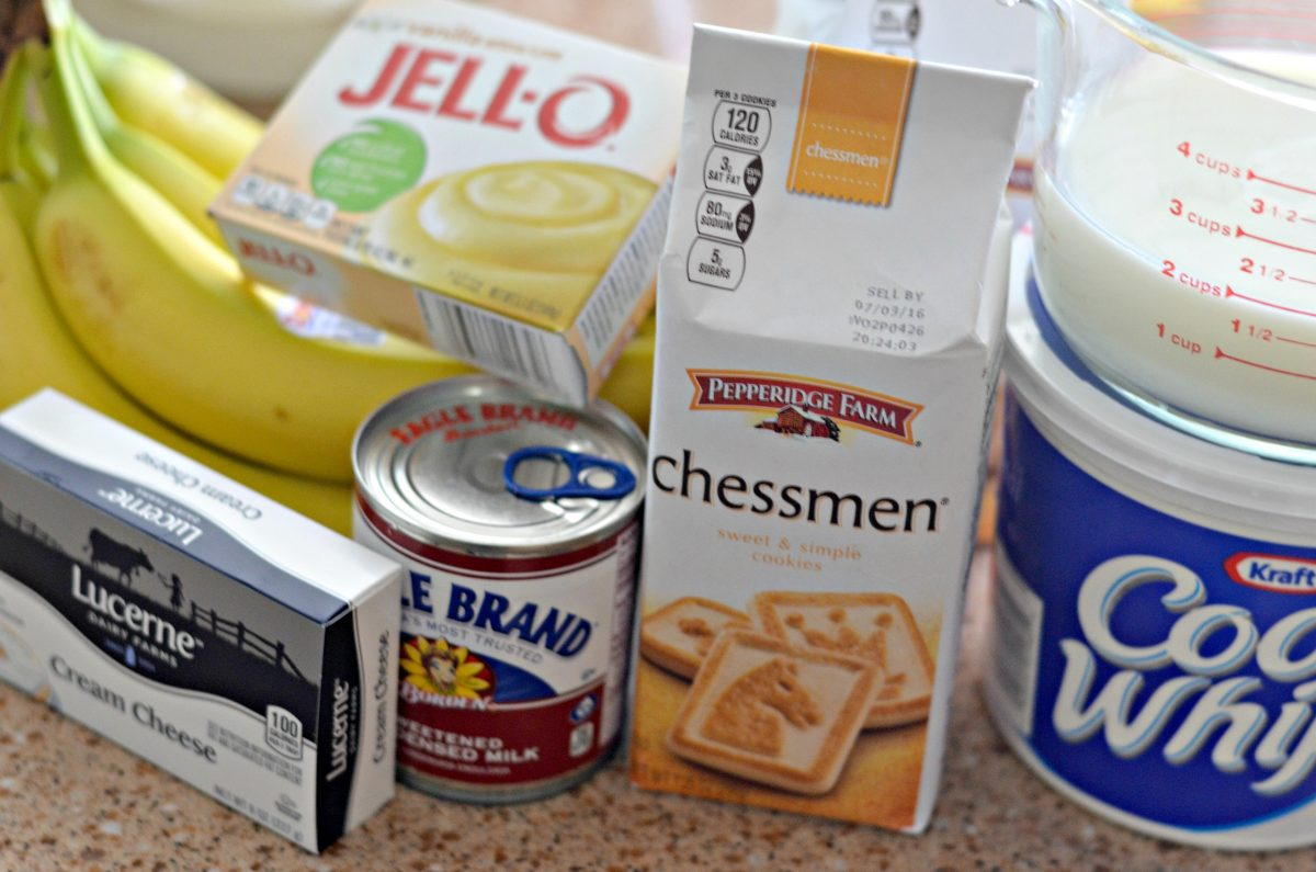 Banana Pudding Ingredients Hip2Save.com