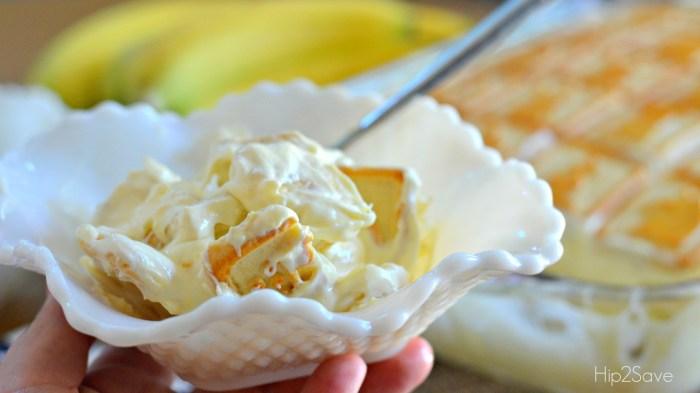 Best Ever Banana Pudding at Hip2Save.com