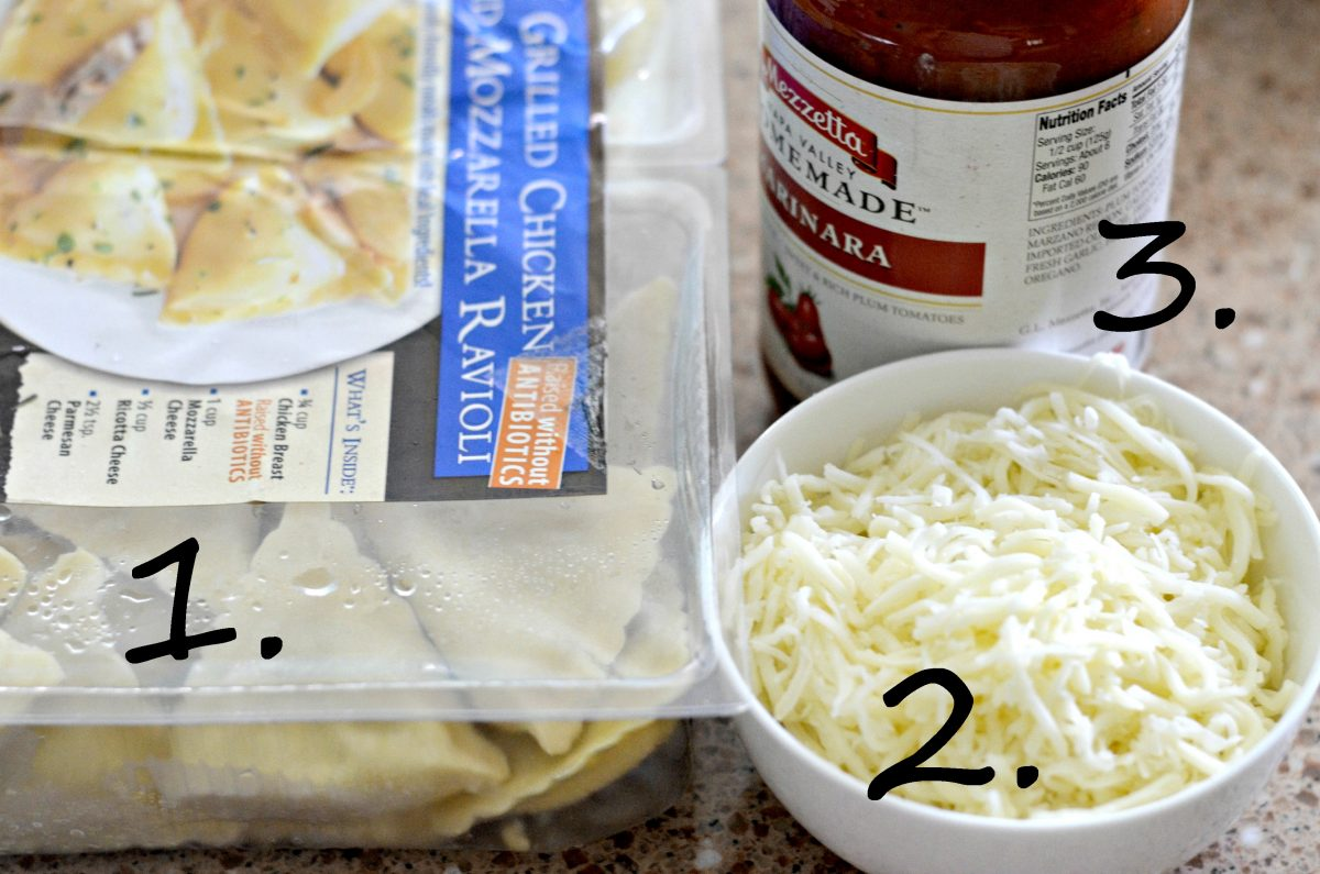 Best Ever Ravioli Bake with 3 Ingredients