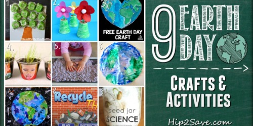 9 Earth Day Crafts and Activities