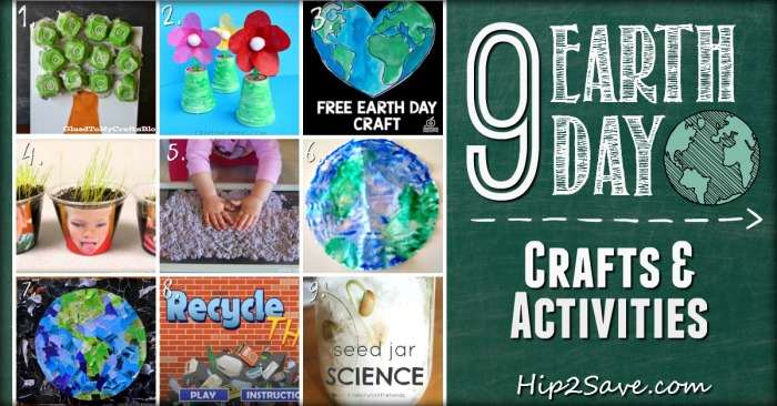 Creative Earth Day Crafts & Activities Hip2Save.com