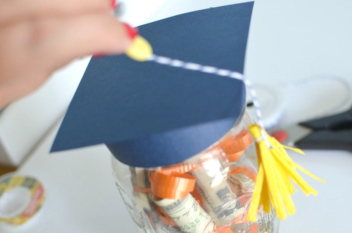 mason jar gift for graduation