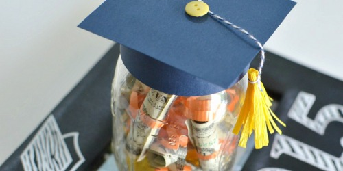 Graduation Hat Jar (Graduation Gift Idea)