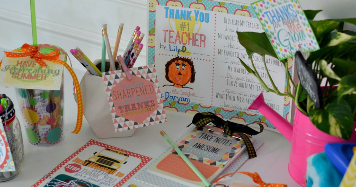 photo about Diy Gift Tags Free Printable titled 10 Instructor Reward Programs w/ No cost Printable Reward Tags - Hip2Conserve