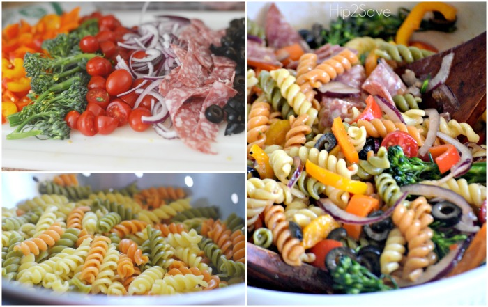 Easy and Delicious Pasta Salad by Hip2Save.com