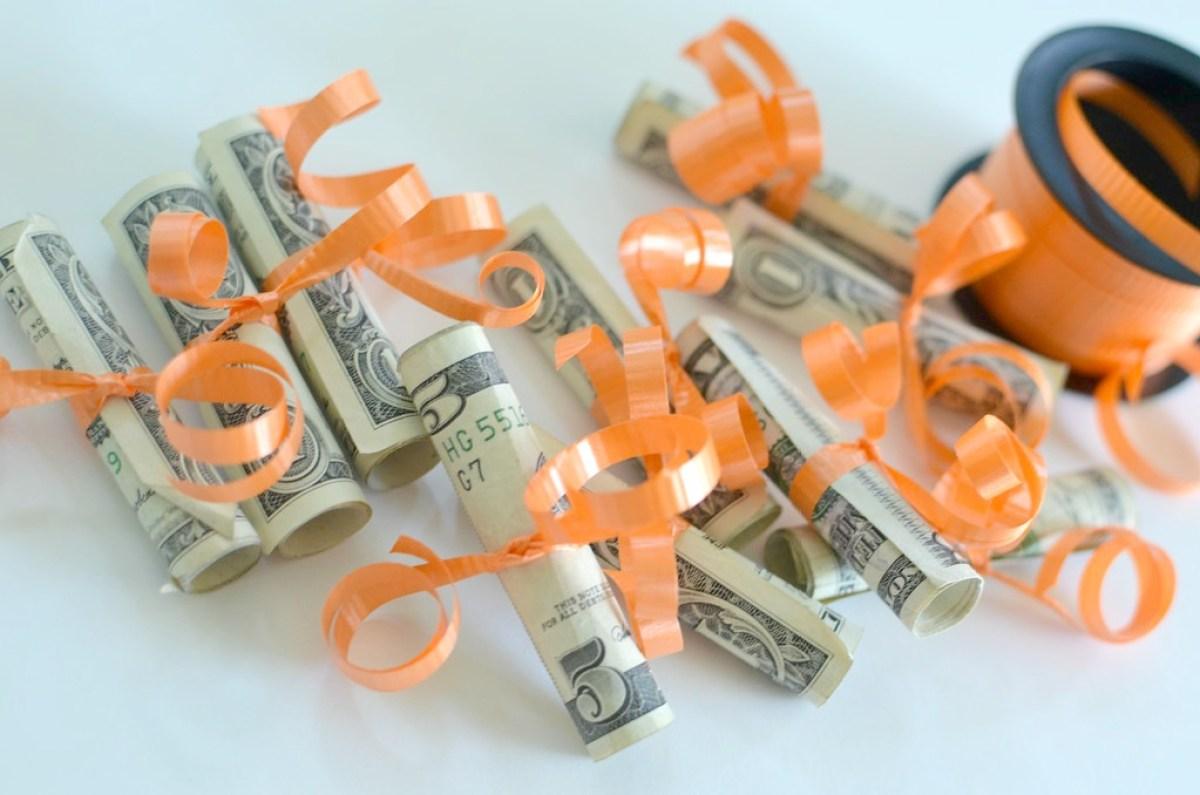 money jar gift