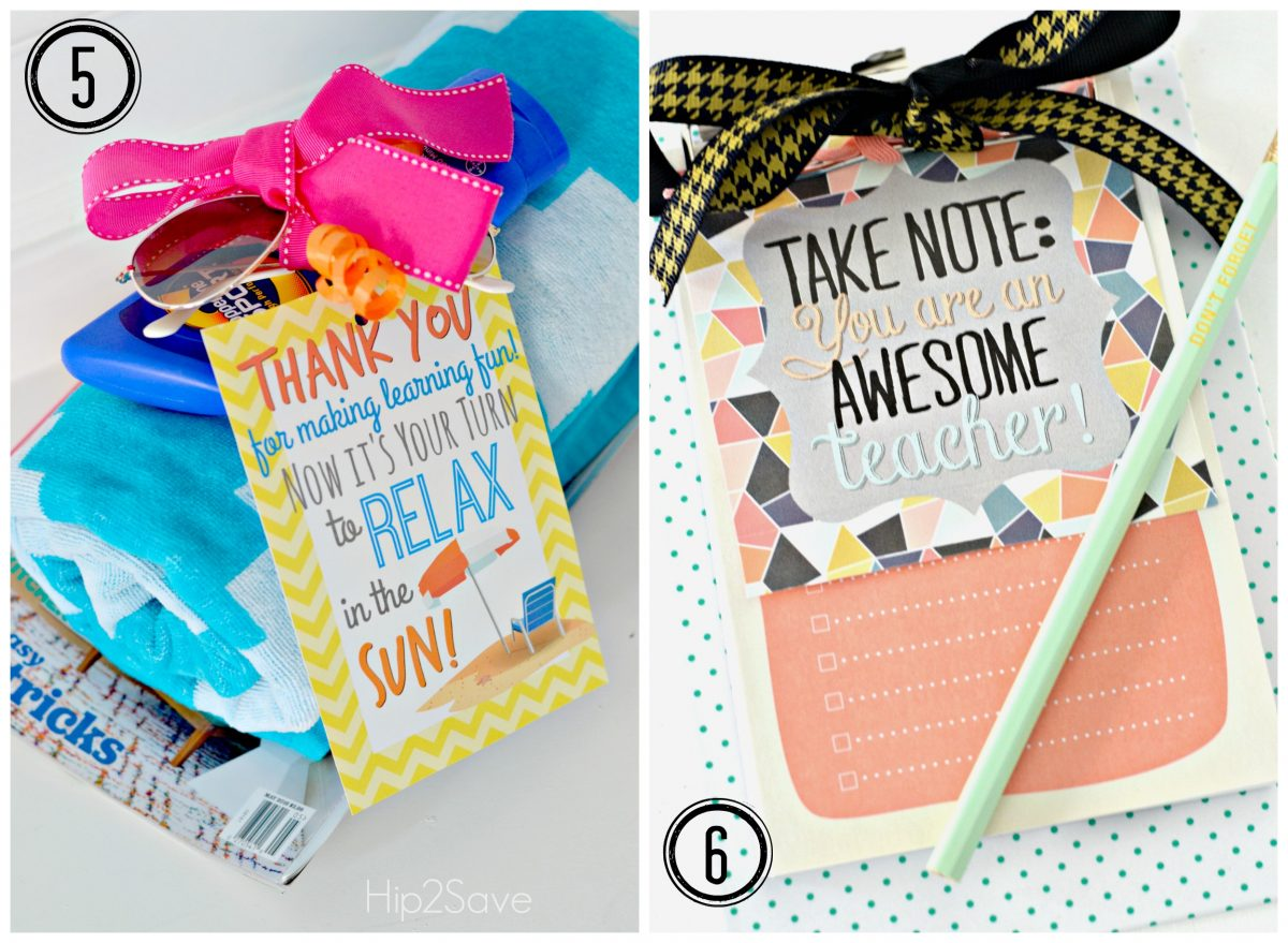 Easy DIY Teacher Gift Ideas Hip2Save.com