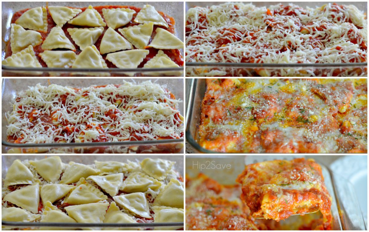 Easy Ravioli Bake Instructions Hip2Save
