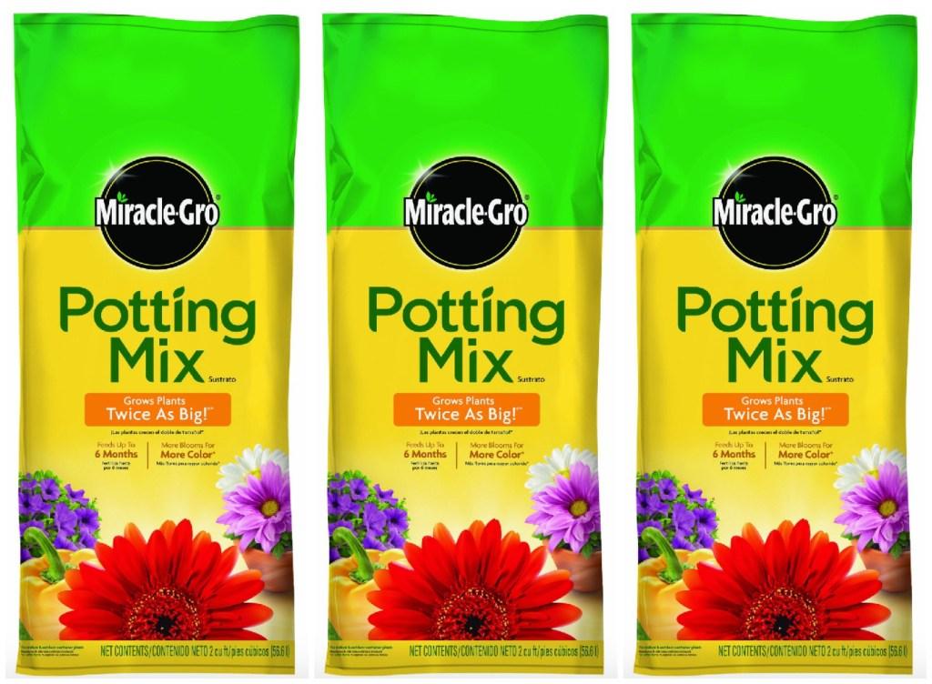 Rare 2 1 Miracle Gro Potting Mix Coupon Hip2save