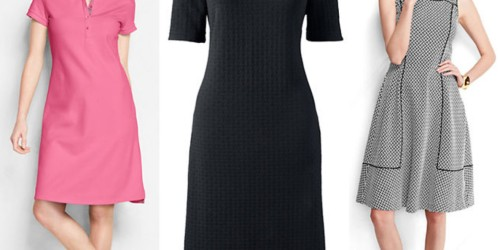 Lands' End: Extra 30% Off Entire Order = Women's Dresses Starting at Only $9.07