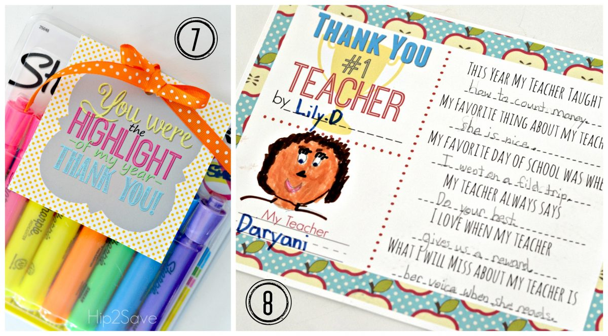 Free Printable Teacher Cards Hip2Save