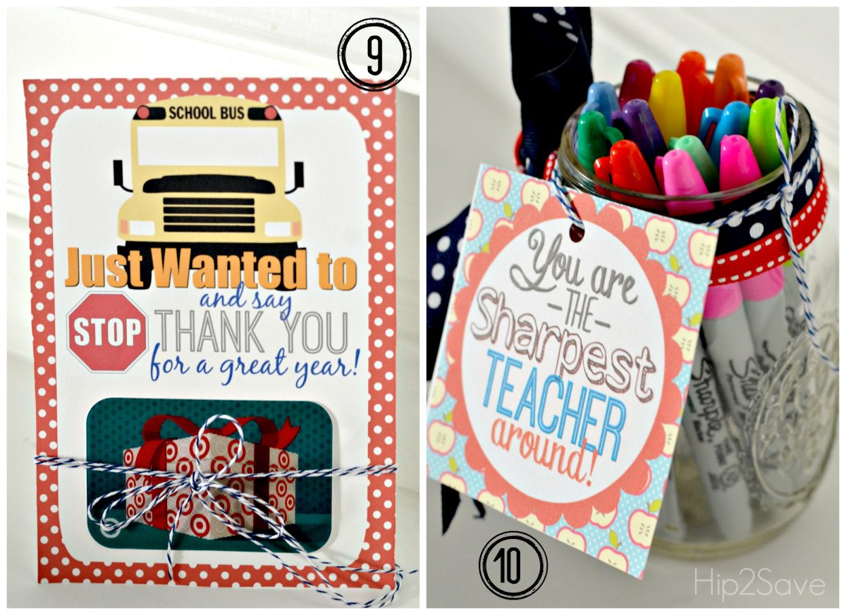 Free teacher gift card holder Hip2Save.com