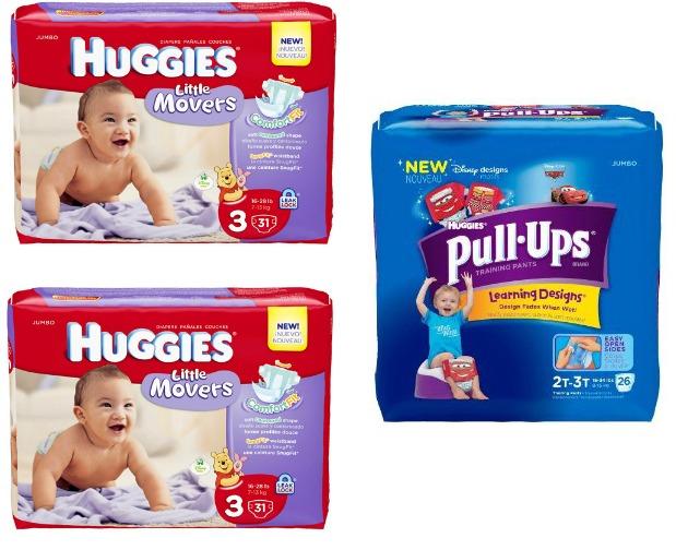 Walgreens: Huggies Diapers & Pull-Ups Jumbo Packs Only $4